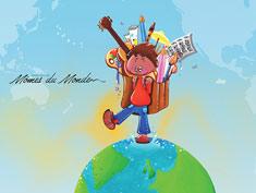reveurs dessin enfant voyageur