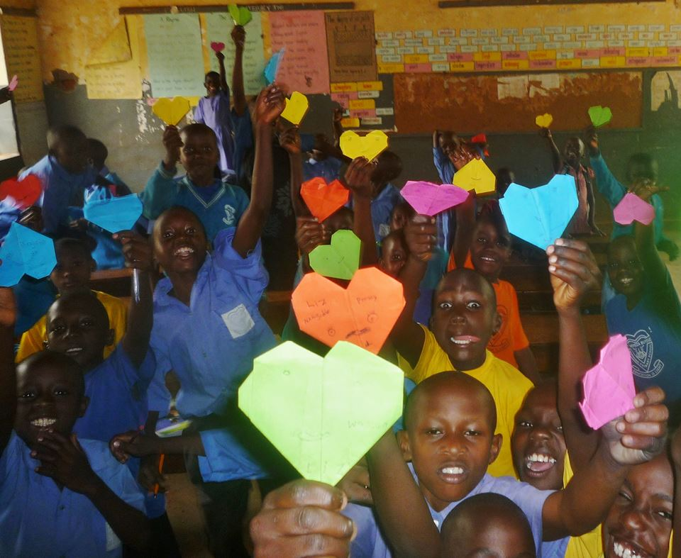 enfants afrique coeurs amour