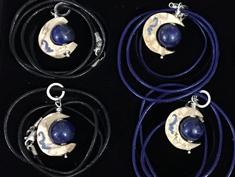 bijoux lune bois