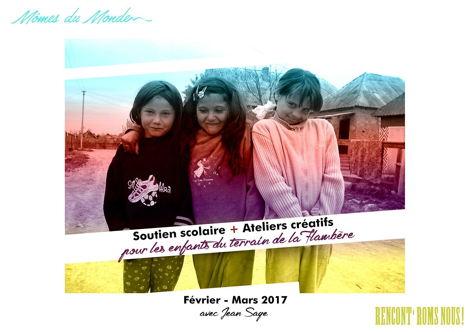 enfants roms couleurs
