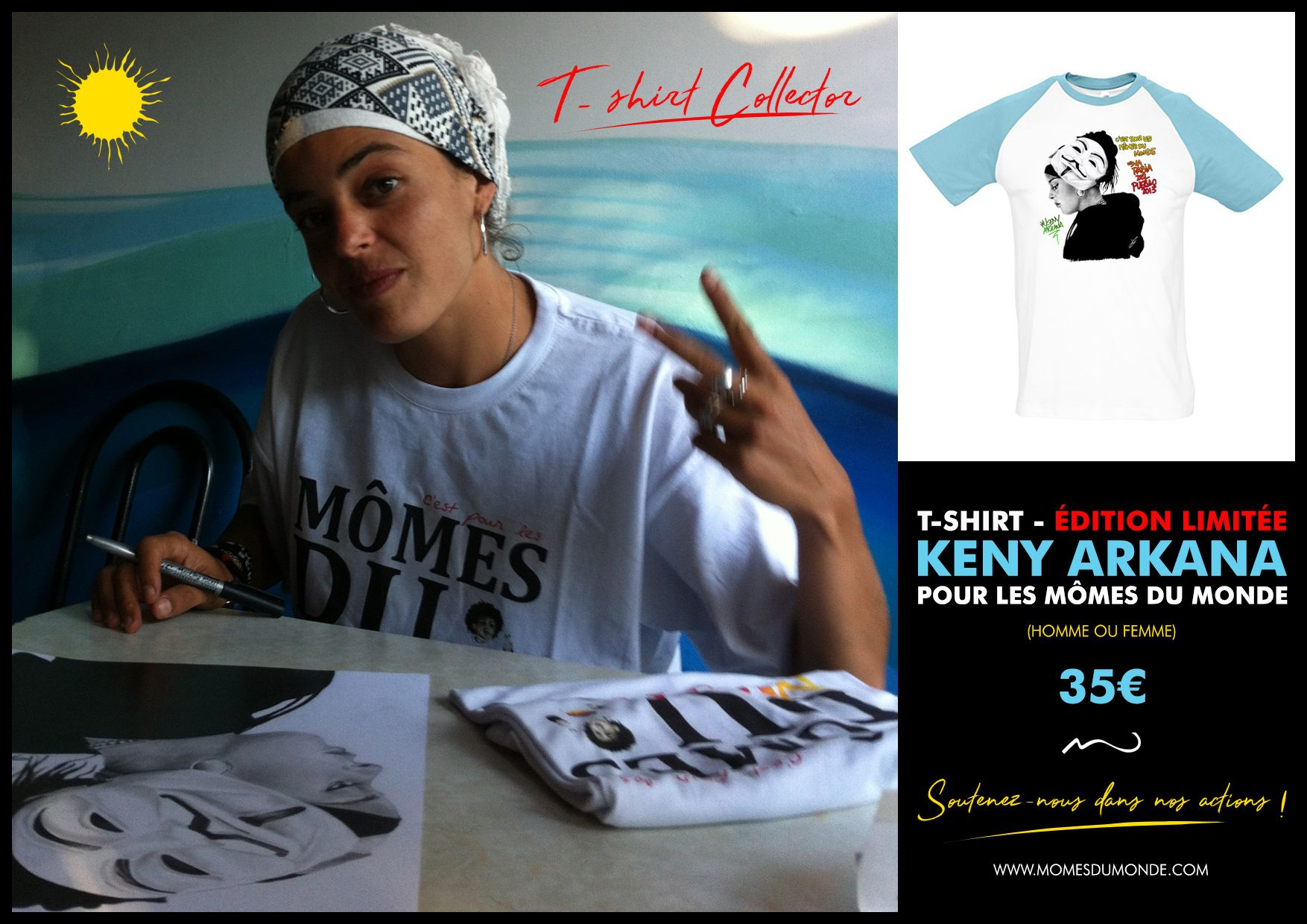 t-shirt keny arkana